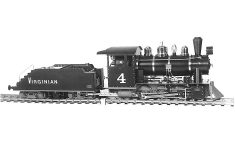 Zimmermann Dampflokomotive Virginian