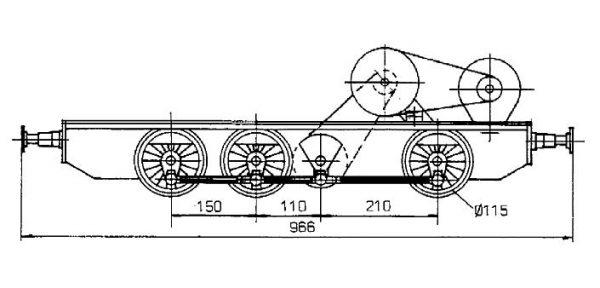 Maschinengestell V36