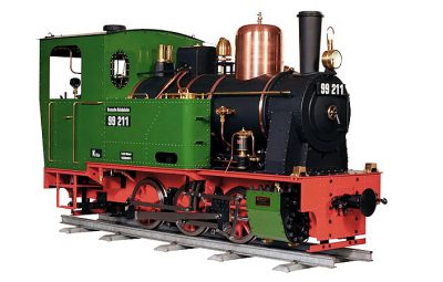 "Zimmermann Dampflokomotive 99 211 7 1/4"""