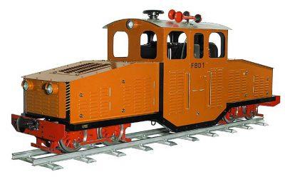 Zimmermann Dieselokomotive FBD 1